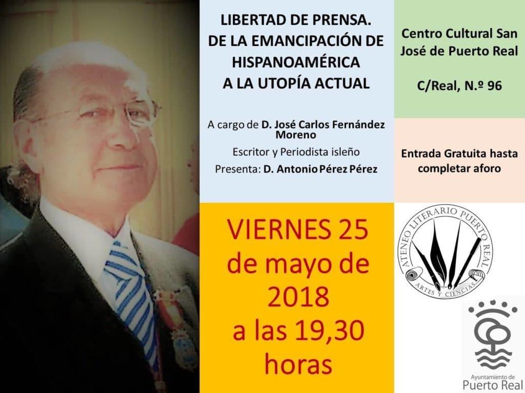 20180525 conferencia Libertad de Prensa
