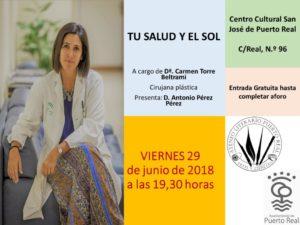20180629 Conf Salud y sol