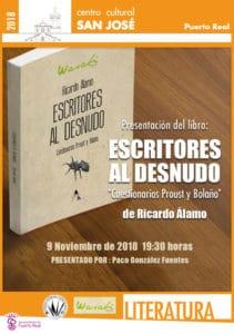 20181109 ESCRITORES-AL-DESNUDO