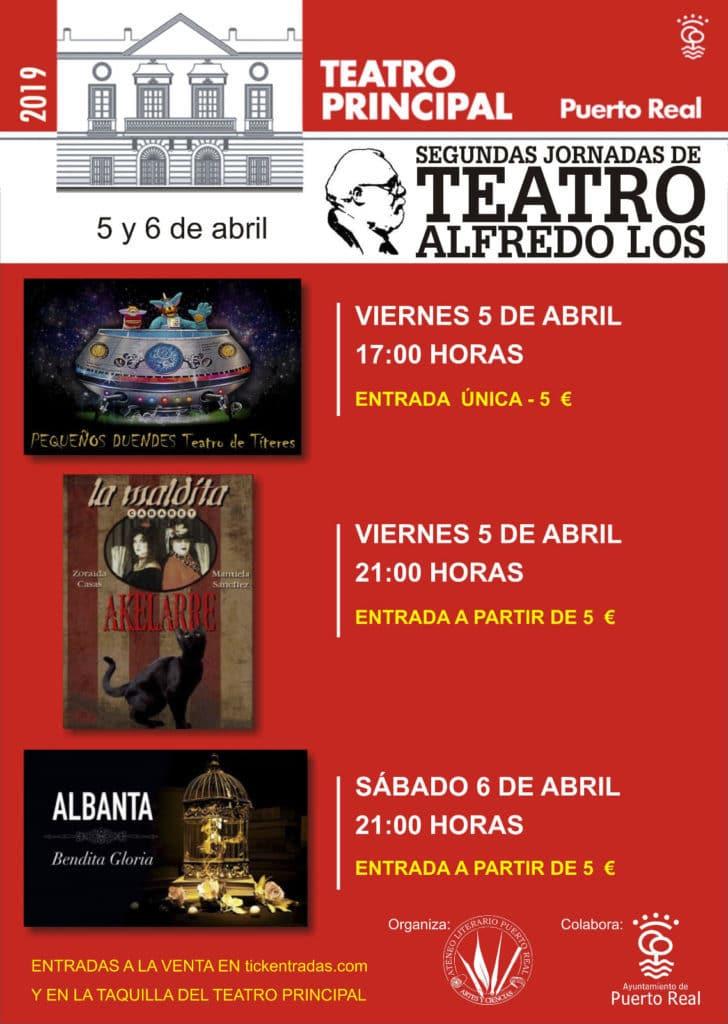 20190405 Segundas Jornadas de Teatro