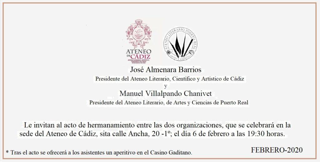 2020 invitación hermanamiento